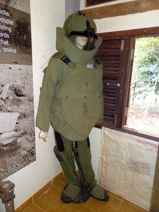 Demining Suit