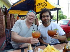 Enjoying A Mexican Michelada With My Uncle In Lakewood
