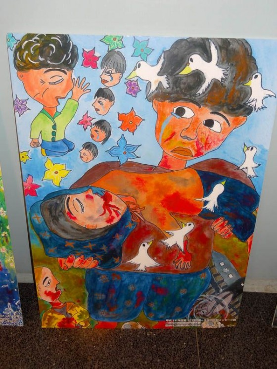 Peace Through Children's Eyes Paintings