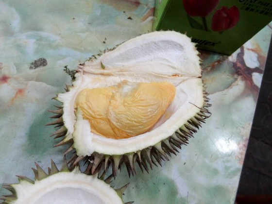 Trying Durian For The First Time