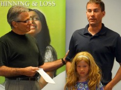 Wig Recipient With Her Dad And The Founder Of Wigs For Kids