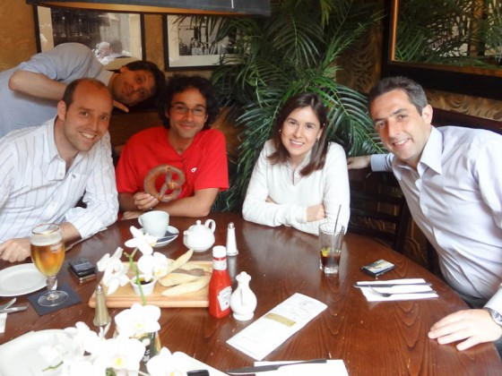 With Friends From Business School