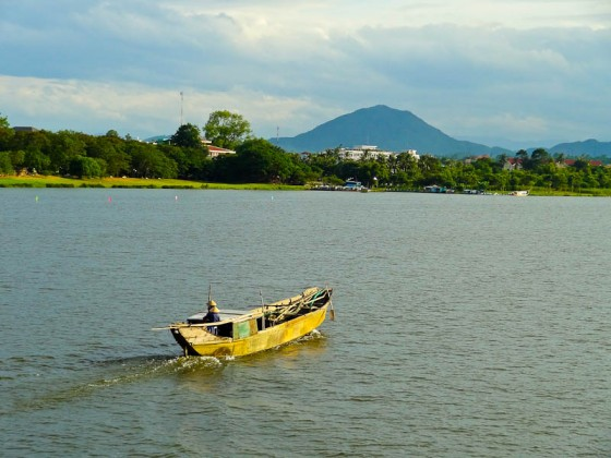 Vietnamese Countryside - Taken 26-July-2012 - Perfume River, Hue, Vietnam