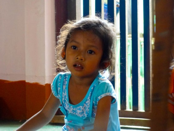 Childhood Learning: The Gaze Of Bewilderment - Taken 10-Aug-2012 - Veuntaen, Laos