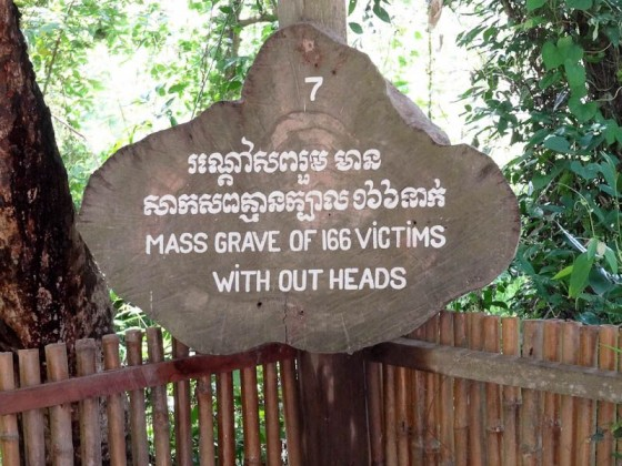 Mass Grave Of Headless Bodies