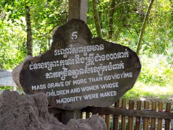 Mass Grave Of Women And Children