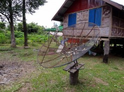 Old Satellite Dish