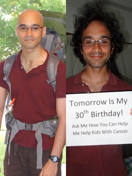 Same Shirt, Big Changes: Left Picture From 10-Aug-2011; Right Picture From 4-Aug-2012