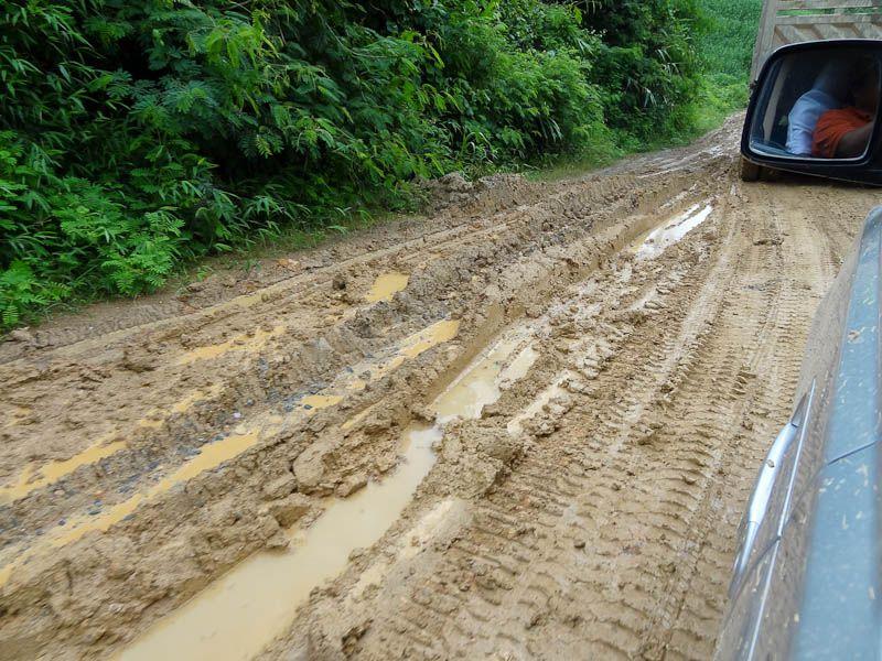 Very Muddy Roads