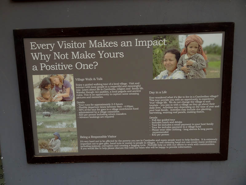Every Visitor Makes An Impact