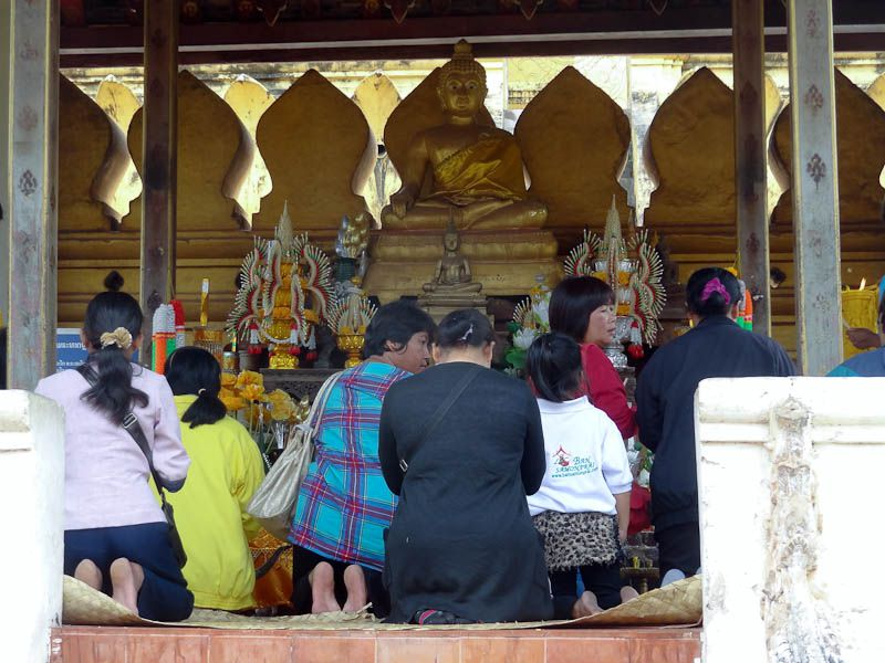 Prayers At A Temple