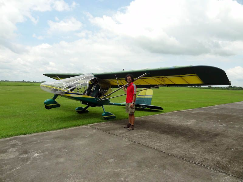 With The Plane Before Takeoff