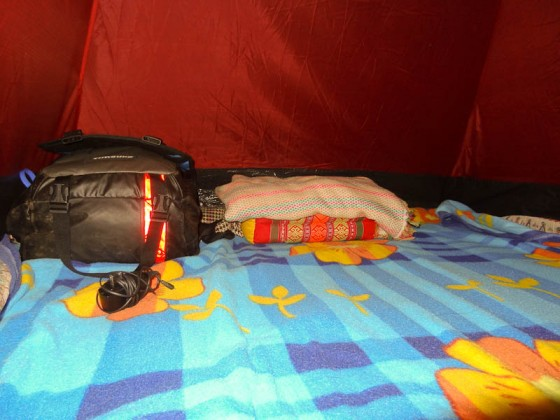 Inside My Tent