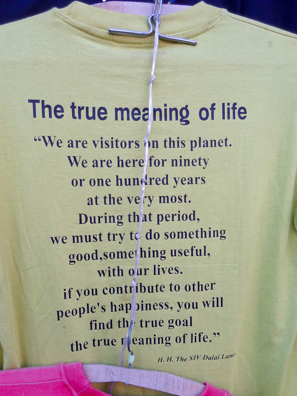The True Meaning Of Life From The Dalai Lama - Taken 27-Nov-2012 - McLeodganj, Dharamsala, India