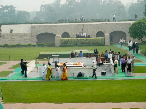 Gandhi Memorial From Above