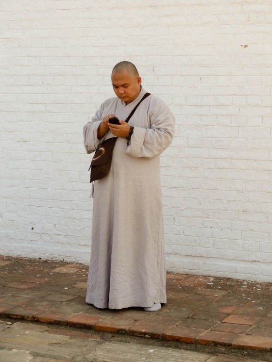 High-Tech Monk