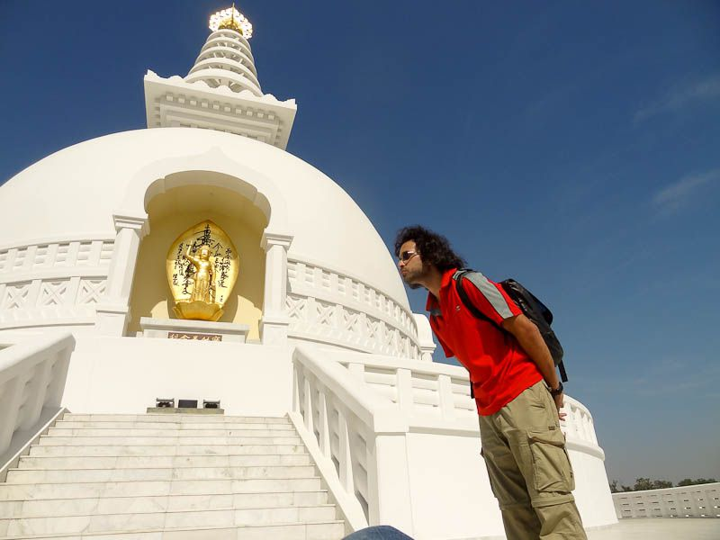 Kissing The World Peace Pagoda