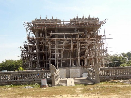 Temple Under Construction