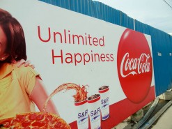 Unlimited Happiness..In A Carbonated Beverage