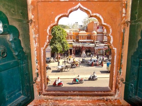 Window To A New World - Taken 5-Dec-2012 - Jaipur, India