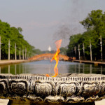 Photo Friday - World Peace Flame And Pagoda - Lumbini, Nepal