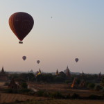 Photo Friday - Balloons And Pagodas - Bagan, Myanmar