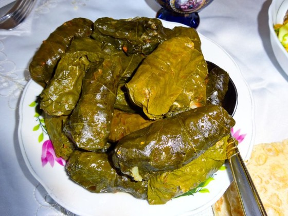 Armenian Dolma (Grape Leaves)