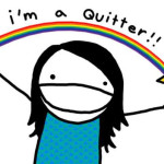 quitter