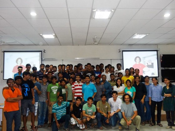 A Picture With The Students