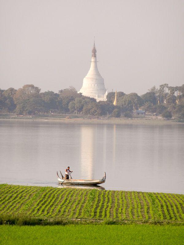 Boat And Pagoda