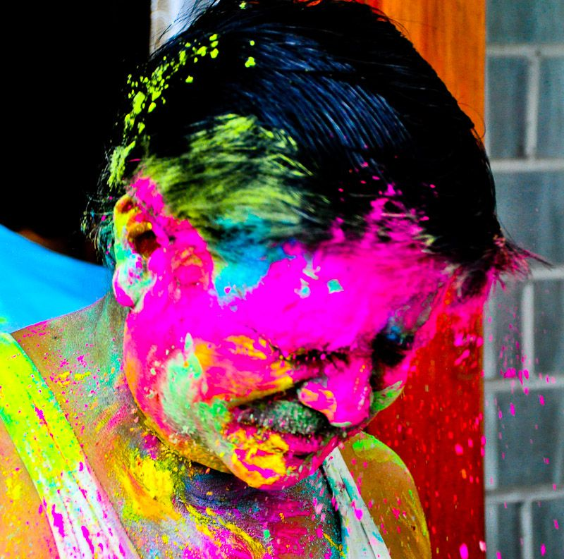Colorful, Wonderful Holi - Taken 28-Mar-2013 - Delhi, India