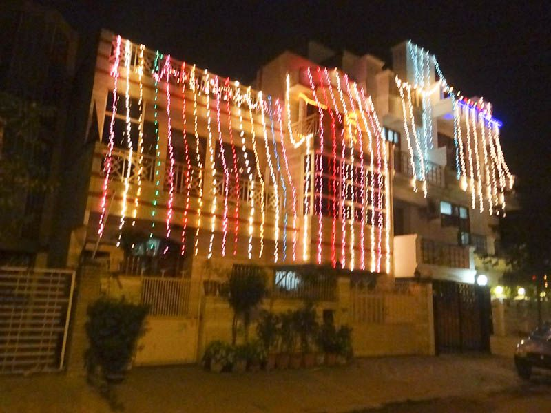 filediwali street decorations in jaipur