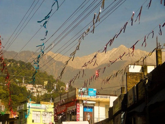 Entering Dharamsala