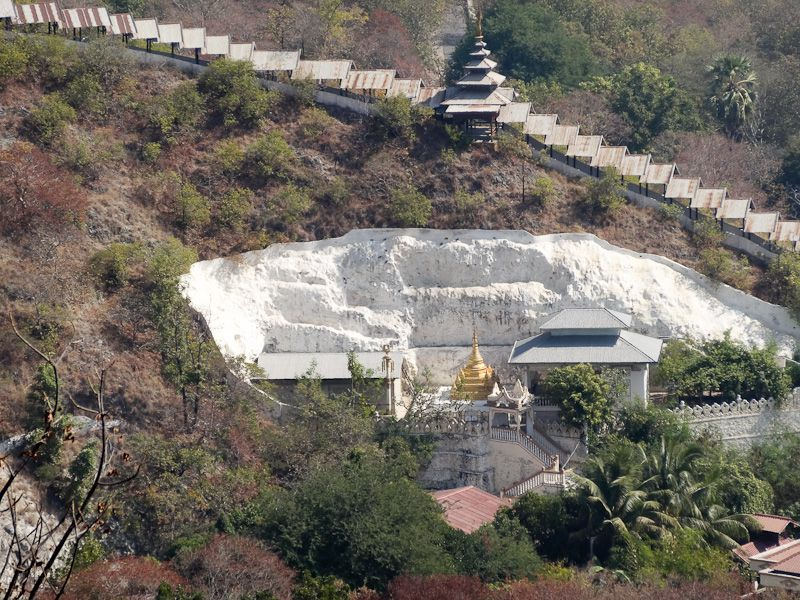 Temple In A Quarry