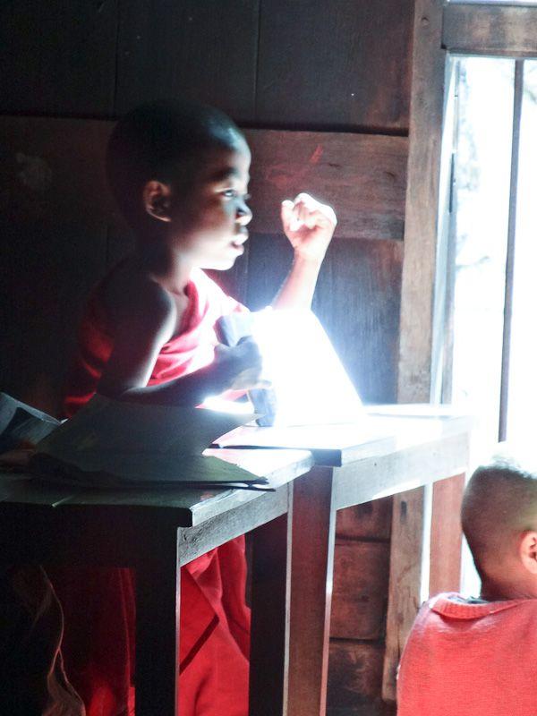 Young Monk Enlightened