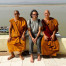 2 Burmese Monks, No Common Language, Tons Of Fun