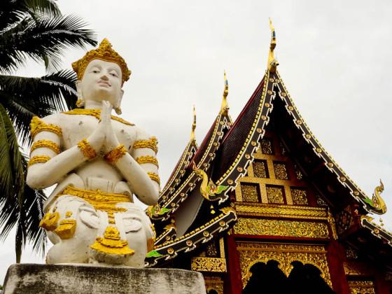 Thai Temple In Chiang Mai