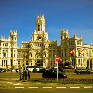 Plaza de Cibeles - Taken 13-Feb-2013 - Madrid, Spain