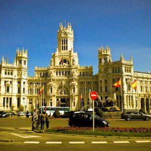 Plaza de Cibeles - Taken 13-Feb-2013 - Madrid, Spain