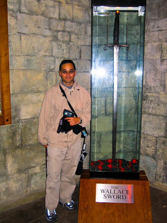 At The William Wallace Monument In Stirling, Scotland In 2005