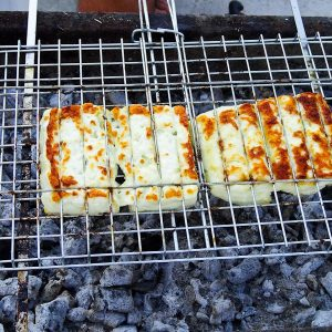 Halloumi On The Grill