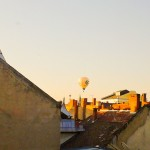 Balloon Out My Window - Taken 22-Jul-2013 - Debrecen, Hungary