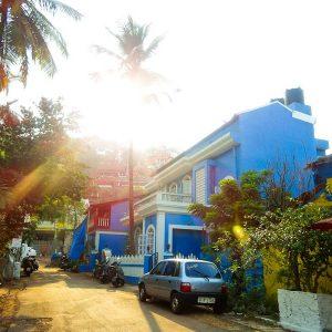 A Street In Panjim