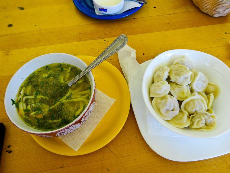 Moldovan Soup And Dumplings