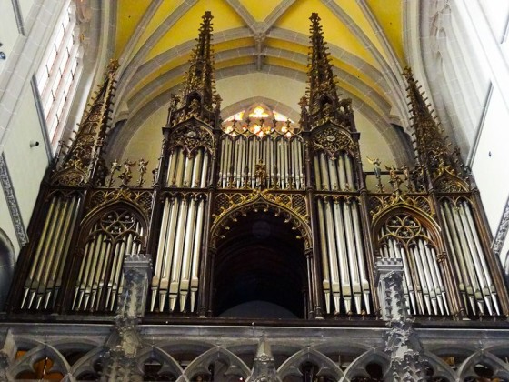 Organ Inside St Elisabeth Cathedral