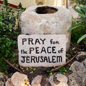 Pray For Peace - Taken 20-Nov-2013 - Jerusalem (Jesus's Tomb)