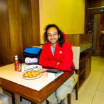Eating Alone In Erbil, Iraq