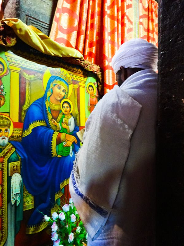 Prayer - Taken 11-Dec-2013 - Lalibela, Ethiopia