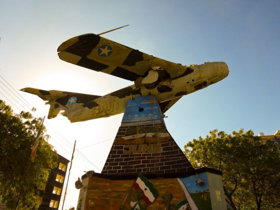 Fighter Plane Roundabout