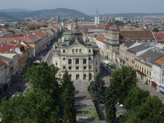 Kosice From The Air